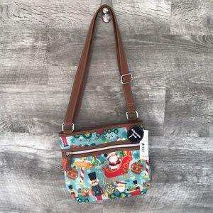 crossbody christmas purse NWT